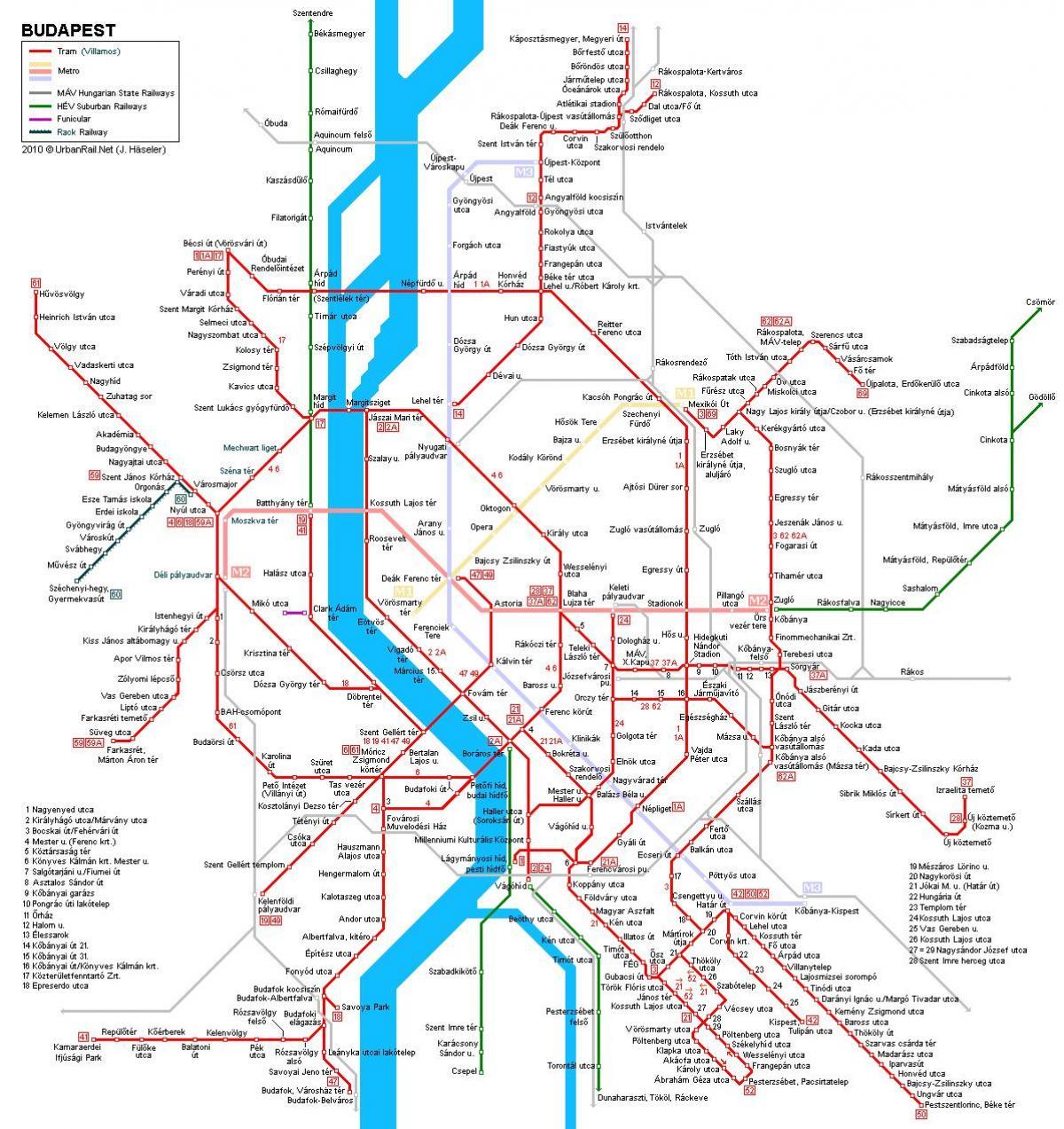 Metra W Budapeszcie Mapa Metra Lotnisko Budapeszt Mapa Metra Wegry
